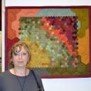 nástěnný quilt /ruční šití mé sestry Evy