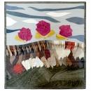 art quilt /kůže 90x100cm