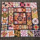 roční quilt 210x210 cm /přehoz
